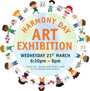 Children First Harmony Day art exhibition