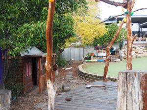 Children First Backyard Stage Before
