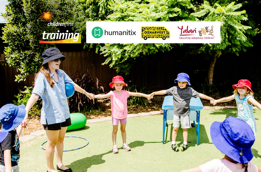 Children First Training Humanitix OzHarvest Yalari
